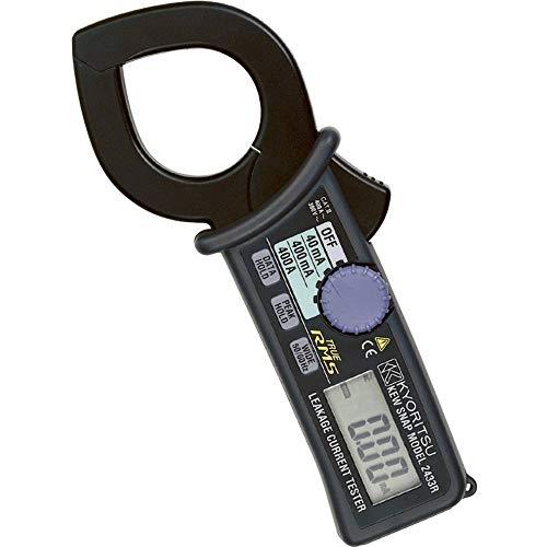 共立電気計器 (KYORITSU) 2433R キュースナップ・漏れ電流・負荷電流測定用クランプメータ