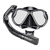 Colcolo Máscara de Buceo Equipo de Snorkel Seco Equipo de Snorkel...