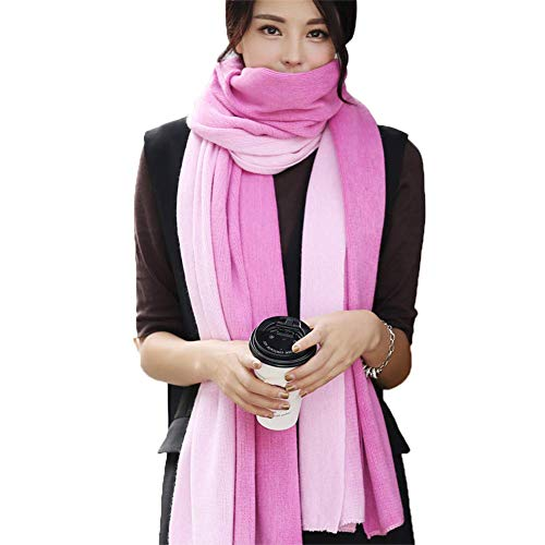 DZX Fashion Winter Ladies Student Scarf, Korean Couple Scarf, Made of Imitation, Comfortable To Touch, High-End, Suitable for Banquet, Wedding