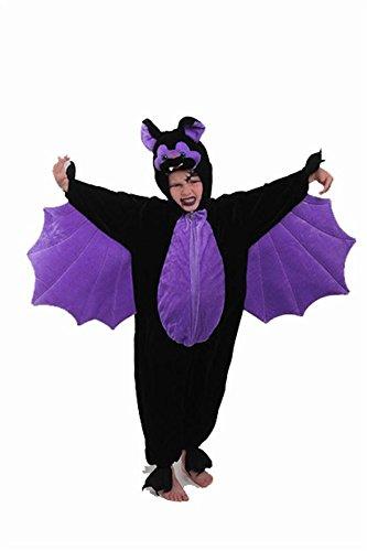 Calve-Souris - Peluche de punto de terciopelo, disfraz de Halloween