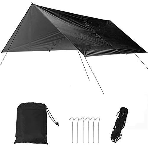 WolfGo Camping Canopy-Outdoor wasserdicht Multifunktions-Baldachin Zelt Ultraleichte feuchte Matte Camping Picknick Angeln