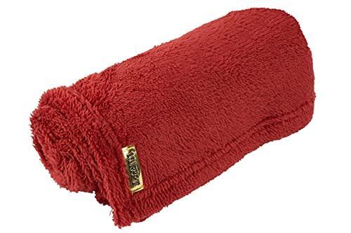 Manta Cobertor de pelo Luppet 80x60 para Cachorro ou Gatos Terra Cota, Marrom