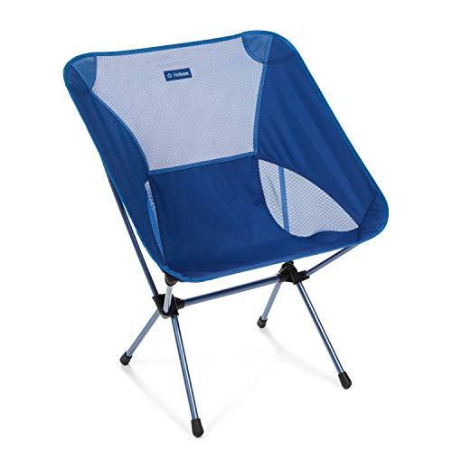Helinox Chair One XL,Campingstuhl,Faltstuhl,Aluminium,leicht,stabil,faltbar,inkl Tragetasche,Blue Block,one Size