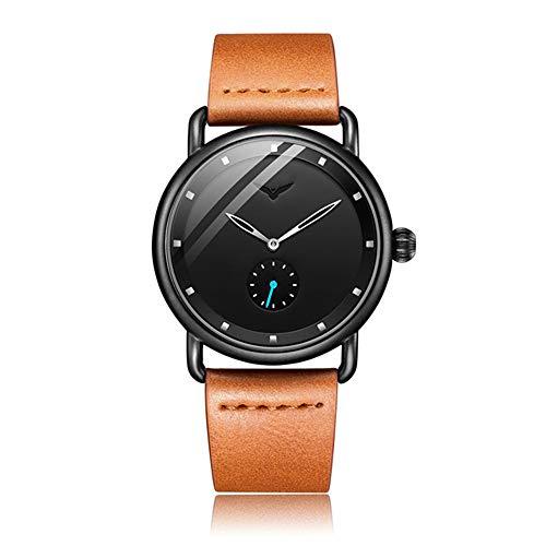 Orologio da uomo boutique Top marque en cuir hommes montres horloge mode sport simple casual étanche montre-bracelet hommes Masculino Reloj Hombre