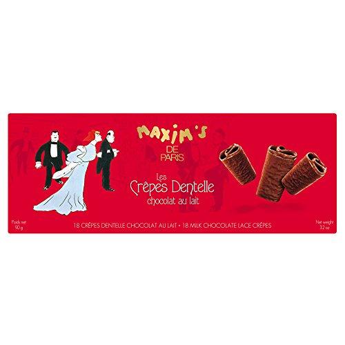 Maxim's de Paris | 18 Crèpes Dentelle au Chocolat | Crepes Dentelles au Chocolat au Lait