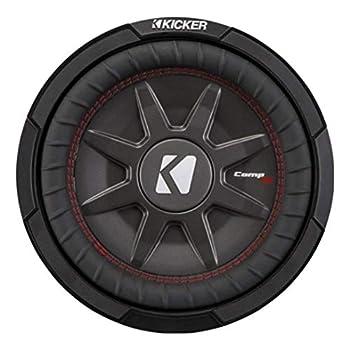Kicker CompRT Single 12 Inch 1000 Watt Max Dual 2 Ohm Shallow Slim Car Subwoofer