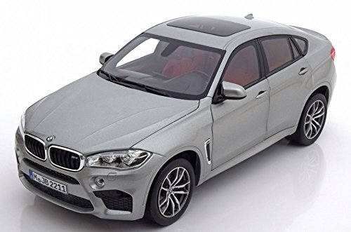 BMW X6 M (F86), metallic-grau, Modellauto, Fertigmodell, I-Norev 1:18