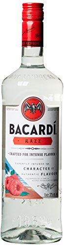 Bacardi Razz Spirituose mit Rum und Himbeergeschmack (1 x 1 l)