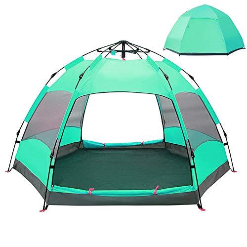 CCCS Campingzelt 5-8 Personen Kuppelzelt Zelt groB,Wasserdicht Wurfzelt leichtes Trekkingzelt,Familienzelt mit Regenfliege Tragetasche,C