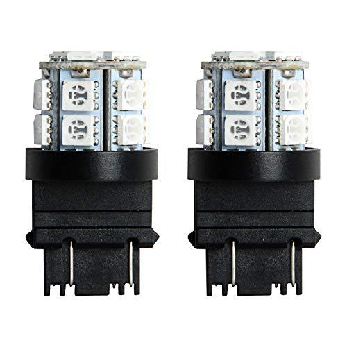 Pilot Automotive (IL-3157A-15-AM) Amber 15-SMD LED Turn/Tail Light Bulb - 2 Piece
