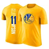 Traje de Entrenamiento de Baloncesto de Camiseta de Manga Corta de Baloncesto Warriors Curry