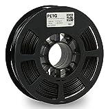 Kodak 3D Printing Filamento PETG 2.85 mm para impresora 3D, PETG negro, precisión dimensional +/- 0.02 mm, bobina de 750 g (1.7 lb), filamento PETG 2.85 compatible con la mayoría de las impresoras FDM