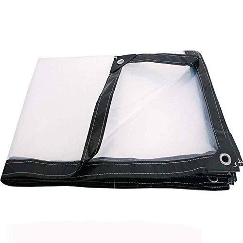 SAC d'épaule Espesado Transparente a Prueba de Lluvia Hoja de plástico, Balcón Prueba de Lluvia y al Viento Tela Impermeable, Resistente al desgarro y Anti-envejecimiento,2x10m