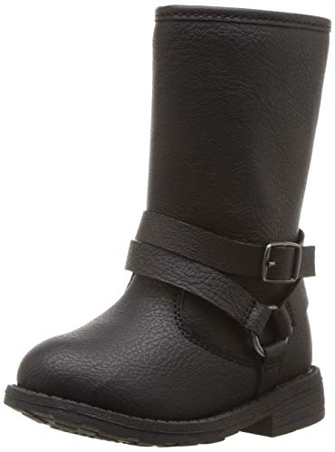 Price comparison product image carter's Girls' Cicily Riding Fashion Boot,  Black,  6 M US Toddler
