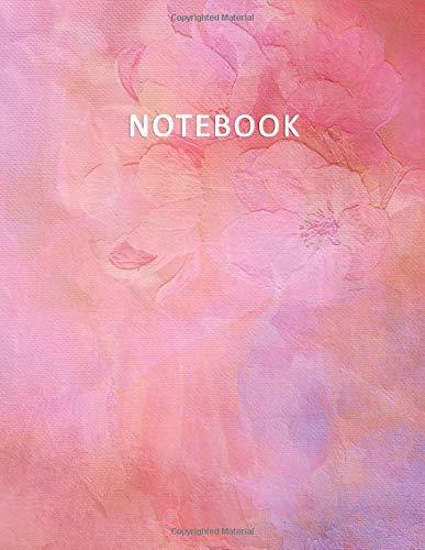 Notebook: Quaderno per appunti per Scuole Medie e Superiori – Rigatura 1R -  100 pagine numerate – Elegante e Moderno effetto Acquerello con  Rose  – ... Doddles, Schizzi, Disegni, Note, Memorie