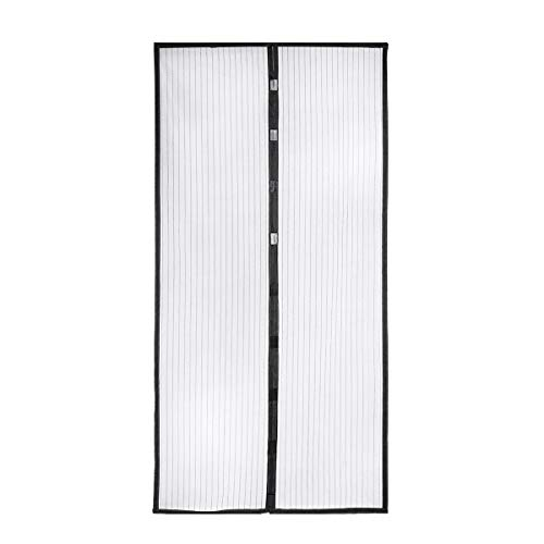 Housmile Mosquito Door Net Hands Free Magnetic Screen Door Anti Fly Bug Insect Mesh Screen Fits Doors Up to 39 x 83 Inch