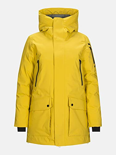 Peak Performance Damen Hyperpk Parka gelb M