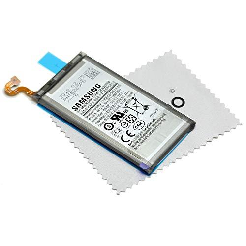 Batería para Samsung Original para Samsung Galaxy S9 (G960F) EB-BG960ABE con mungoo Pantalla paño de Limpieza