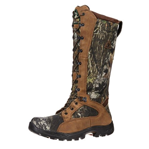 Rocky Women's Waterproof Snakeproof Hunting Boot Knee High, Mossy Oak Breakup, Numeric_8 Wide