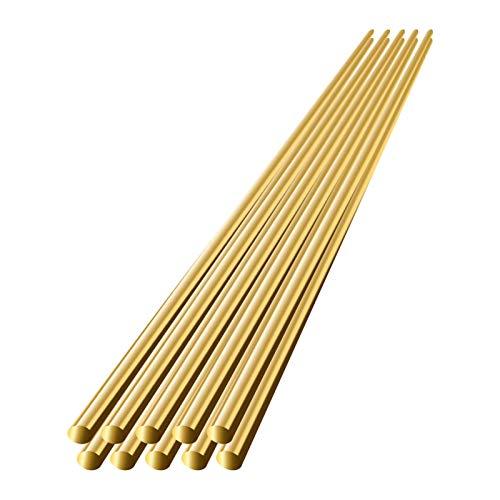 bozitian Messing-Schweißstab Elektrode Lötstange kein Lötpulver nötig Durchmesser Niedertemperatur Aluminium Schweißdraht für Schweißgeräte 10/20 Stück