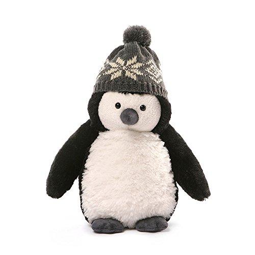 GUND Christmas Puffers Penguin Plush, 10'/Small