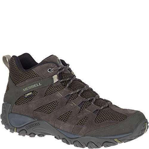 Merrell - Hiking-Schuhe ALVERSTON MID Gore-TEX Olive, Größe:43.5 EU