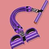 Extensores De Pecho para Fitness Stirrurt Puller Home Sket-Up Aid Dispositivo De PéRdida De Peso Negro / PúRpura-púrpura