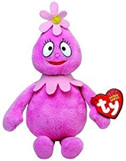 Ty Plush Beanie Baby Toy Doll YO Gabba Gabba Pink FOOFA 9 in. cute gift
