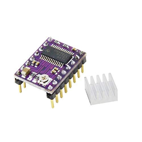 Sylvialuca Drv8825 For RAMPS Stepper Motor Driver HeatSink Part 3D Printers Parts Heat Sink 4 Layer PCB Purple Board