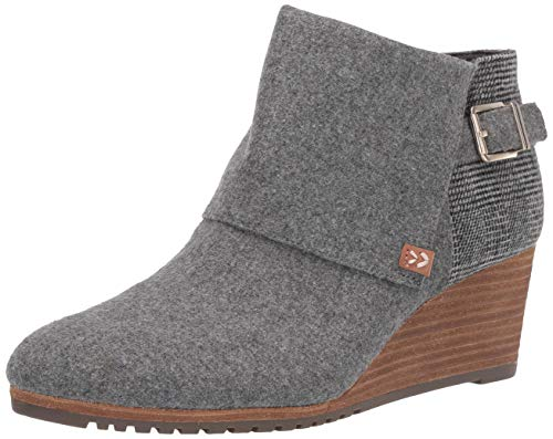 Dr. Scholl's Shoes womens Create Booties Ankle Boot, Mid Grey Flannel, 11 US
