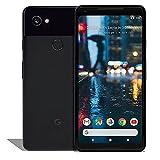 Google Pixel 2 XL (64GB, 4GB) 6.0' P-OLED, IP67 Water Resistant, 12.2MP 4K Camera, Snapdragon 835, GSM+CDMA Unlocked (Verizon, T-Mobile, AT&T, Global) G011C (Fast Car Charger Bundle, Just Black)