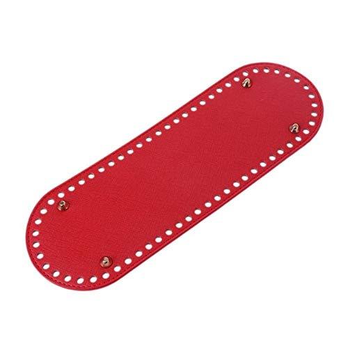 Boner 1PCS Bag Bottom Shaper Bags Cojín para Hombro Bolso Fabricación DIY Monedero, Rojo