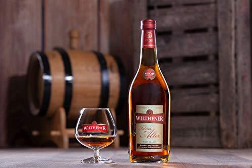 Wilthener Feiner Alter Weinbrand 36% vol., Brandy in V.S.O.P.-Qualität, in Limousin-Eichenholzfässern gelagert (1 x 0.7 l) - 5