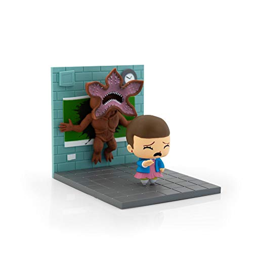 Loot Crate Stranger Things Eleven Vs. Demogorgon Exclusive Diorama | SuperEmoFriends Design