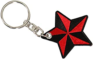 Hot Leathers KCH1047 'American Nautical Embroidered' Key Chain
