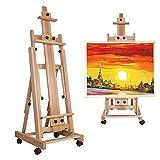 WYZXR Cavalletto per artisti, cavalletto Pieghevole da Studio per artisti artistici e Artigianali Display per Tavolo da Disegno Artista per Schizzi Pittura Display Supporto per cavalletto Regolabile