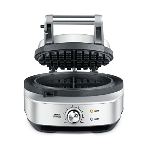 Breville BWM520XL No-Mess Waffle Maker, Brushed Stainless Steel