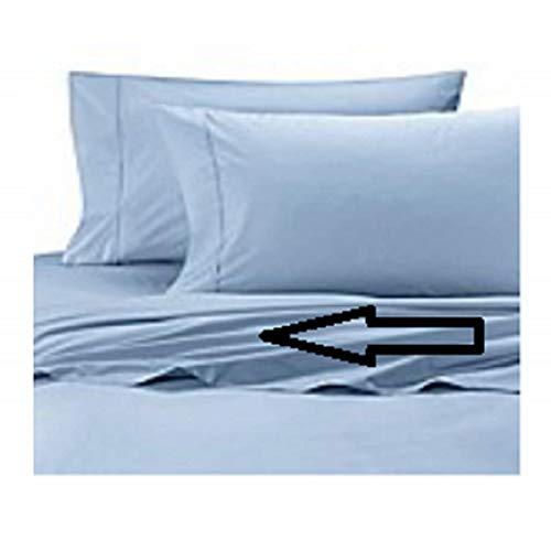 Wamsutta Cool Touch Percale Queen Flat Sheet in Light Blue