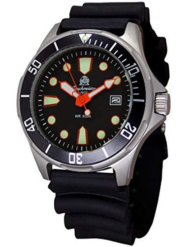 Tysk dykare klocka från Tauchmeister 500 m ny modell T0320