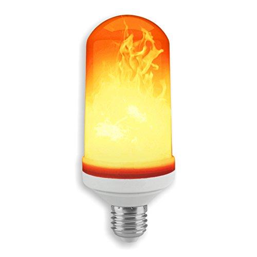 Solea-LED 153500-001 A++ - Lámpara con efecto de fuego (plástico, 5 W, E27, luz blanca cálida, 12,5 x 5 x 5 cm)