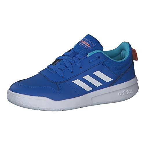 adidas TENSAUR K, Zapatillas de Running Unisex niños, Glory Blue/FTWR White/Amber Tint, 33.5 EU