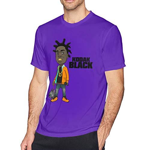 Kodak Black T- Shirts for Men Purple