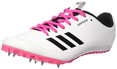 adidas Sprint Star W Unidad Guantes, Mujer, ftwwht/cblack/Shopin, 9.5