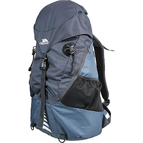 Trespass Inverary Unisex Adult Backpack, unisex_adult, Daypack, TP371, navy, FR : Taille unique (Taille Fabricant : Unique)