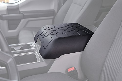 Boomerang Tire Tread Armpad for Ford F250 (2017-2020) (Super Duty) - Center Console Armrest Cover