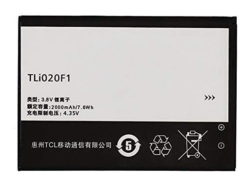 Bateria Compatible con TLi020F1 para Alcatel Pixi 4-5010D (5'')/Alcatel OneTouch Pop 2 (4'')/Orange Rise 51/Idol-2 Mini S/Idol Mini 2/5042D/6036Y 6036X 6036A/TCL D920.