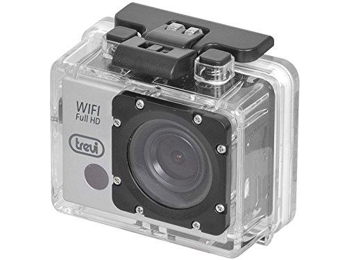 GO 2500 WiFi Trevi Action Cam Full HD con Display LCD e custodia Subacquea