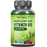 Best B12 Supplements - Nutrainix Organic Vitamin B12 with Spirulina - Certified Review