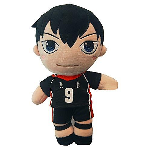 Moyisea Haikyuu Plüsch Plüschtier Anime Puppe Manga Plushie Gefülltes Kissen Weich Flauschig 30cm (9#)