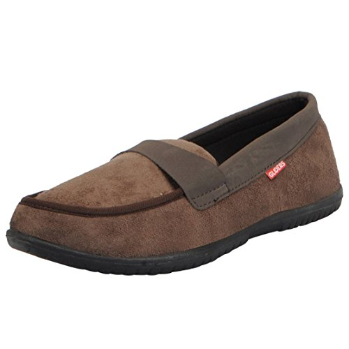 Gliders (From Liberty) Men's Brown Canvas Casual Boat Shoes - 9 UK (2159009160430)